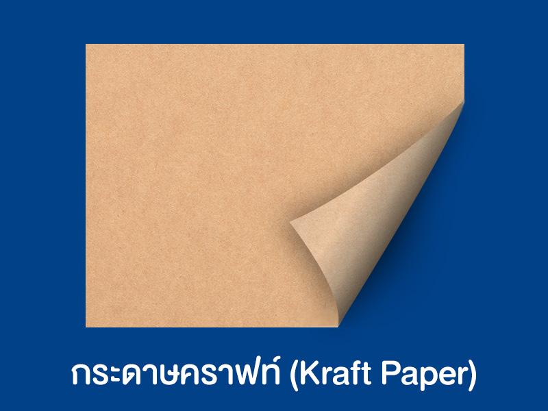 3 ชนิดกระดาษที่นิยมทำถุงกระดาษ และเหมาะกับการนำไปใส่อะไรบ้าง ?